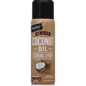 Signature Select Cooking Spray, No Stick, Coconut Oil