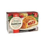 Meijer Parmesan Breaded & Boneless Raw Stuffed Chicken Breasts With Rib Meat Filled With Marinara Sauce & Provolone Cheese