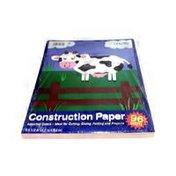 "U-Create / Carolina Pad 9"" x 12"" Assorted Color Construction Paper"