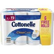 Cottonelle Clean Care Double Roll Toilet Paper