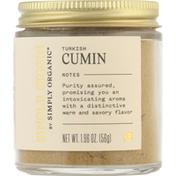 Simply Organic Cumin, Turkish