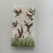 Paperproducts Design Meadow Buzz Hummingbirds Guest Towels or Buffet Napkins