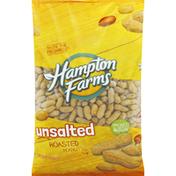 Hampton Farms Peanuts, Unsalted, Roasted