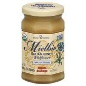 Rigoni Di Asiago Honey, Organic, Mielbio Italian Wildflower, Raw and Creamy