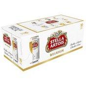 Stella Artois Premium Lager Beer Cans