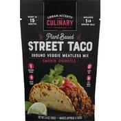 Urban Accents Veggie Meatless Mix, Ground, Street Taco