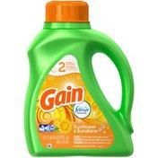 Gain Liquid Laundry Detergent, Sunflower and Sunshine 24 Loads 50 Fl Oz Laundry