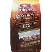 Folgers Coffee, Ground, Medium Roast, Traditional Blend