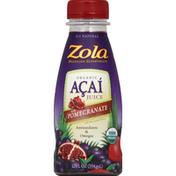 Zola Juice, Organic, Acai with Pomegranate