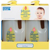 Johnson's® Head-to-Toe® Baby Wash 33.8 oz Twin Pack Tray (Club) Posted 2/4/2014 Baby Bath