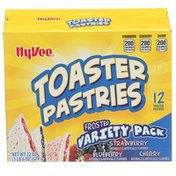 Hy-Vee Frosted Variety Pack Toaster Pastries