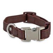 Bond & Co Extra Small & Small Mahogany Adjustable Dog Collar