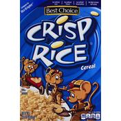 Best Choice Cereal, Crisp Rice