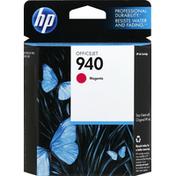Hewlett Packard Ink Cartridge, OfficeJet, Magenta 940