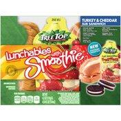 Lunchables Turkey & Cheddar Sub Sandwich with Smoothie
