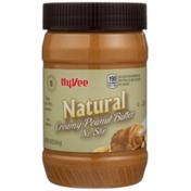 Hy-Vee Creamy Natural No Stir Peanut Butter