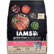 IAMS Grain Free Naturals Chicken + Salmon Recipe Adult Cat Food