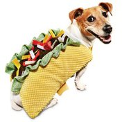 Small Halloween Dog Taco Costume