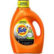 Tide Plus Febreze Sport Active Fresh Scent Liquid Laundry Detergent, 100 oz, 52 loads Laundry