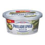 Kraft Philadelphia Regular Cream Cheese Spicy Jalapeno