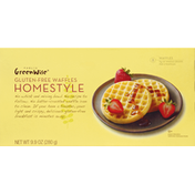 GreenWise Gluten Free Homestyle Waffles 8 Ct.