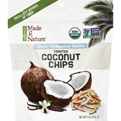 Made in Nature Toasted Coconut Chips, Maple Madagascar Vanilla