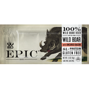Epic Bar, Wild Boar with Uncured Bacon, Gluten Free