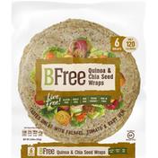 BFree Wraps, Quinoa & Chia Seed