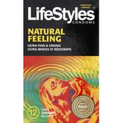 LifeStyles Latex Condoms, Premium, Lubricated, Ultra Thin