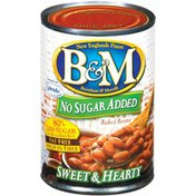 B&M Sweet & Hearty No Sugar Added Baked Beans