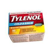 Tylenol Extra Strength Cold & Sinus Caplets