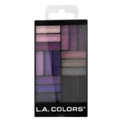L.A. Colors Glam Palette 18 Color Eyeshadow CES749 Strange Love