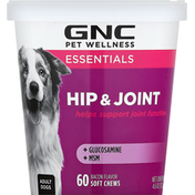 GNC Soft Chews, Adult Dogs, Bacon Flavor, Hip & Joint
