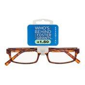 Foster Grants Non-Prescription Glasses Essential +1.50 Carter TOR