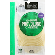 Essential Everyday Cheese, Provolone, Non-Smoked, Sliced