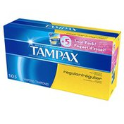 Tampax Regular + Super Tampons