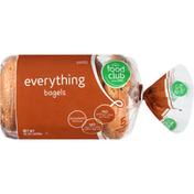 Food Club Everything Bagels