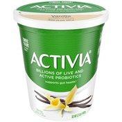 Activia Low Fat Probiotic Vanilla Yogurt