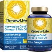 Renew Life Critical Omega Firsh Gels