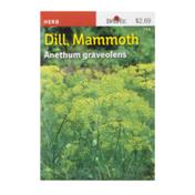 Burpee Seeds, Dill, Mammoth