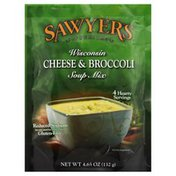 Sawyers Soup Mix, Premium, Wisconsin Cheese & Broccoli