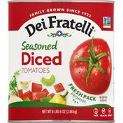 Dei Fratelli Tomatoes, Seasoned, Diced