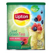 Lipton Iced Tea Mix Green Tea Mixed Berries