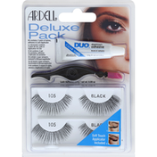 Ardell Deluxe Pack, Black 105
