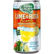 Bud Light Lime Ritas Picante Lime-A-Rita Malt Beverage