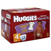 Huggies Diapers, Size 4 (22-37 lb), Winnie the Pooh