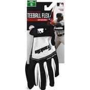 Franklin`s Teleme Batting Gloves, Teeball Flex, Small