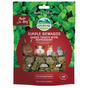 Oxbow Simple Rewards Baked Treats With Peppermint for Small Animals