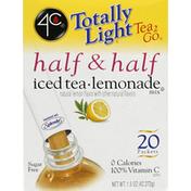 4C Foods Iced Tea Lemonade Mix, Half & Half