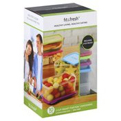 Fit & Fresh Healthy Eating Living 2 Cup Smart Portion